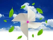 papierowy wiatraczek Zdjęcie Royalty Free
