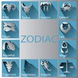 Papierowy zodiak Fotografia Royalty Free