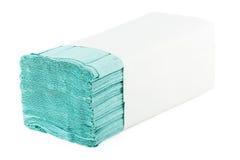 Papierowych ręczników stos Obrazy Stock