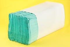 Papierowych ręczników stos Obraz Royalty Free