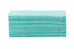 Papierowych ręczników stos Fotografia Stock