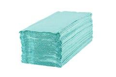 Papierowych ręczników stos Zdjęcie Stock