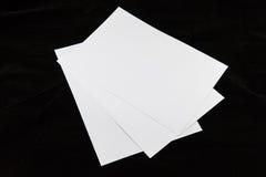 Papiers A4 Photos stock