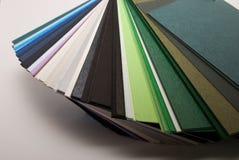 Papiers colorés Photographie stock libre de droits