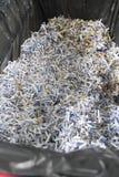 Papiers déchiquetés Image stock