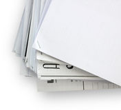 Papiers de document Photo stock