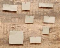 Papiers de note photo libre de droits