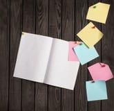 Papiers de note Photographie stock libre de droits