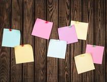 Papiers de note Photos stock