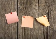 Papiers de note Photographie stock