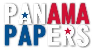 Papiers du Panama Image libre de droits