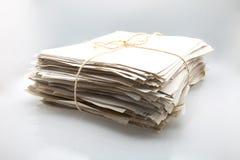 Papiers empilés Photographie stock