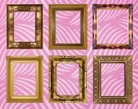 Papiers peints de cadre de tableau Photos libres de droits