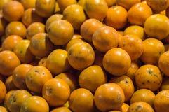 Papiers peints et fond colorés oranges de texture Photographie stock