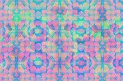 Papiers peints et milieux de texture de bokeh de tache floue d'arc-en-ciel Image libre de droits