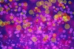 Papiers peints et milieux de texture de bokeh de tache floue d'arc-en-ciel Photo libre de droits