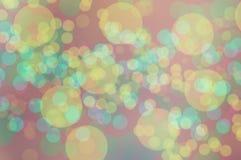 Papiers peints et milieux de texture de nature de bokeh de Blure Image libre de droits