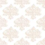 Papiers peints sans couture dans le style du baroque canette illustration de vecteur