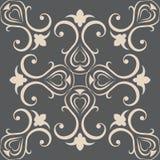 Papiers peints sans couture dans le style du baroque canette illustration libre de droits