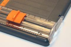 Papierschneidemaschine stockbild
