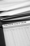 Papierschneidemaschine Lizenzfreie Stockbilder