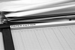Papierschneidemaschine Stockbilder