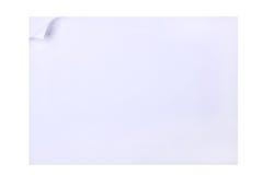 Papierseite mit Rotation lizenzfreie stockfotos