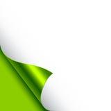 Papierseiten-Rotation Lizenzfreie Stockfotos