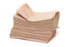 Papierservietten Stockbild