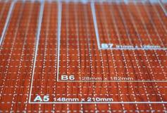Papiertrimmer benutzt für das Scrapbooking Lizenzfreies Stockbild