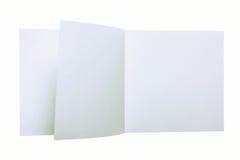 papieru czysty prześcieradło fotografia stock