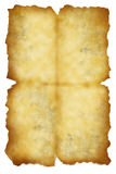 papieru stary prześcieradło Obrazy Royalty Free