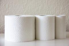 Papieru toaletowego gospodarstwa domowego higieny miękkość Obraz Royalty Free