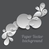 Papiervektorhintergrund Lizenzfreie Stockfotografie