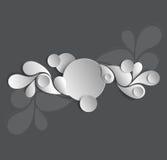 Papiervektorhintergrund Stockfoto