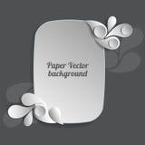 Papiervektorhintergrund Lizenzfreies Stockbild
