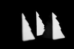 Papierweihnachtsbaum Stockfotos
