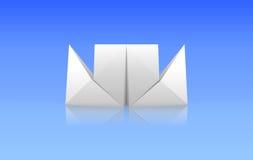 Papierzwischenlage Lizenzfreies Stockfoto