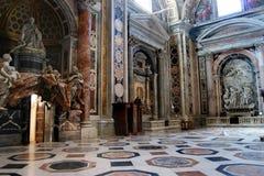 Papieska bazylika St Peter w Watykan zdjęcie stock