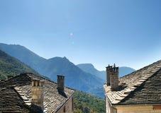Papigos del pueblo de montaña Fotos de archivo