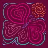 Papillon illustration stock
