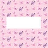 Papillon coloré Images stock