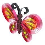 Papillon coloré abstrait Illustration de Vecteur