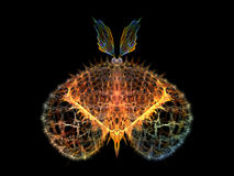 Papillon conceptuel Photo libre de droits