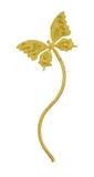 Papillon d'or Images libres de droits
