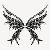 Papillon de tatouage Photographie stock libre de droits