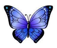 Papillon de vecteur Photographie stock libre de droits