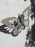 Papillon en acier Photo libre de droits