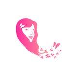 Papillon Logo Template Image libre de droits