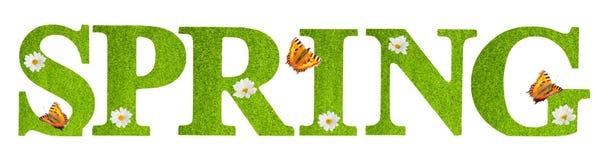Papillons de ressort Image libre de droits